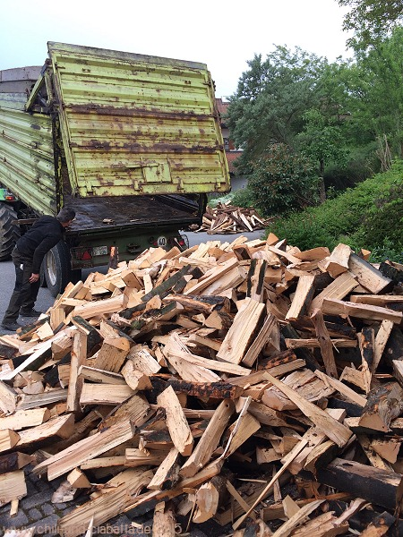 Brennholzlieferung