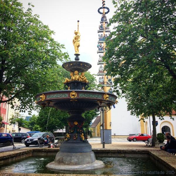 Brunnen Stadtplatz Viechtach