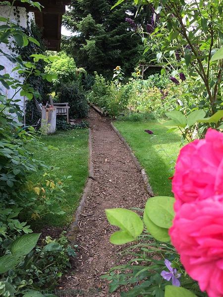 Gartenweg nachher