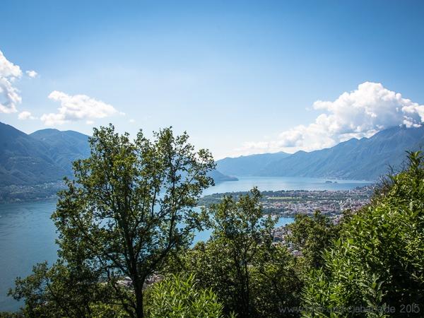 Sentiero Collina alta Ausblick