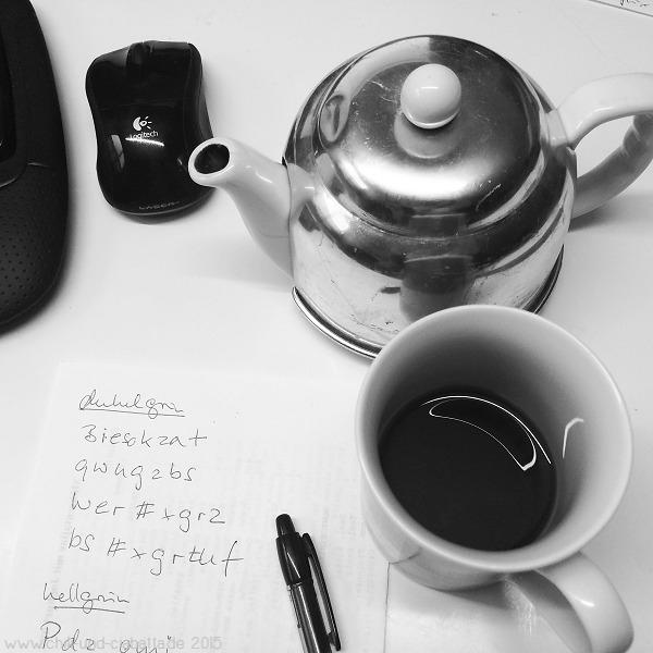 Tee trinken und Mysteries lösen
