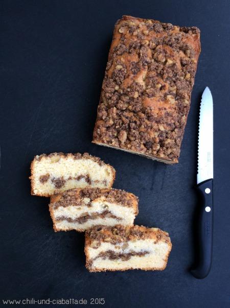 Coffee Cake mit Walnuss-Zimt-Streuseln