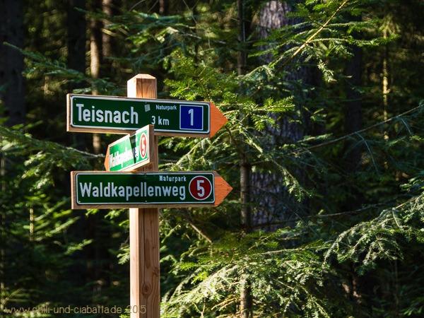 Kreuzung Waldkapellenweg