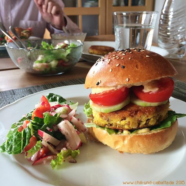 Feta-Hirseburger