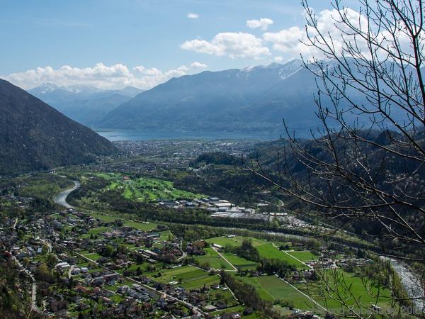 Blick Richtung Lago Maggiore