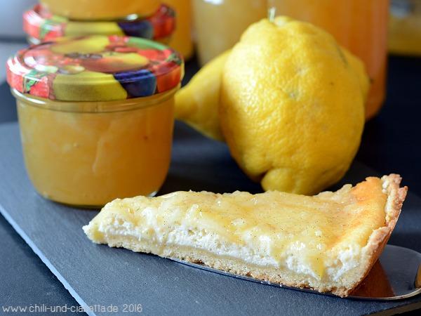 Amalfi-Marmelade und Crostata