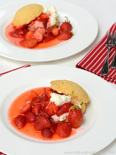 Erdbeer-Shortbread