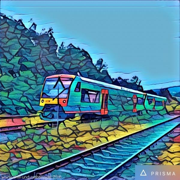 Waldbahn, Prisma App