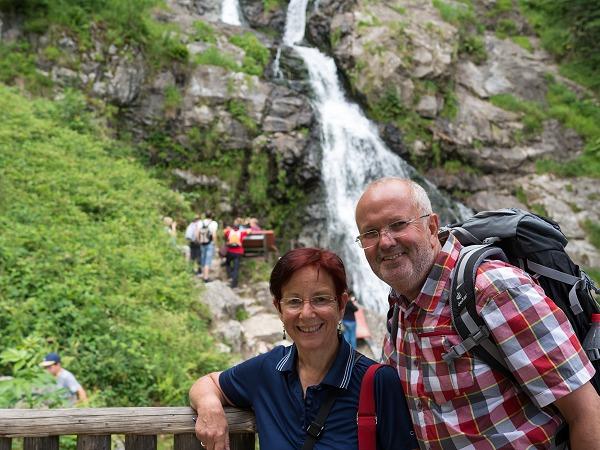 Petra und Helmut Todtnauer Wasserfälle