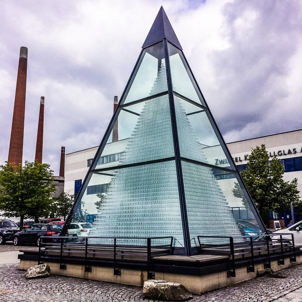 Glaspyramide Zwiesel