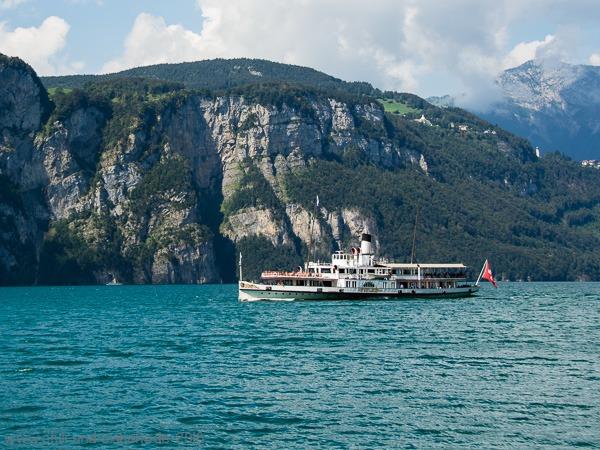 Schiff Vierwaldstätter See