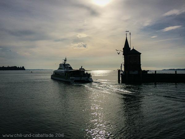 Morgenspaziergang Konstanz Hafen