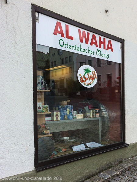 arabisches Geschäft, Regen