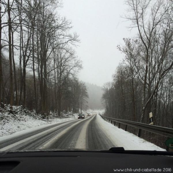 Schnee am Houbugl