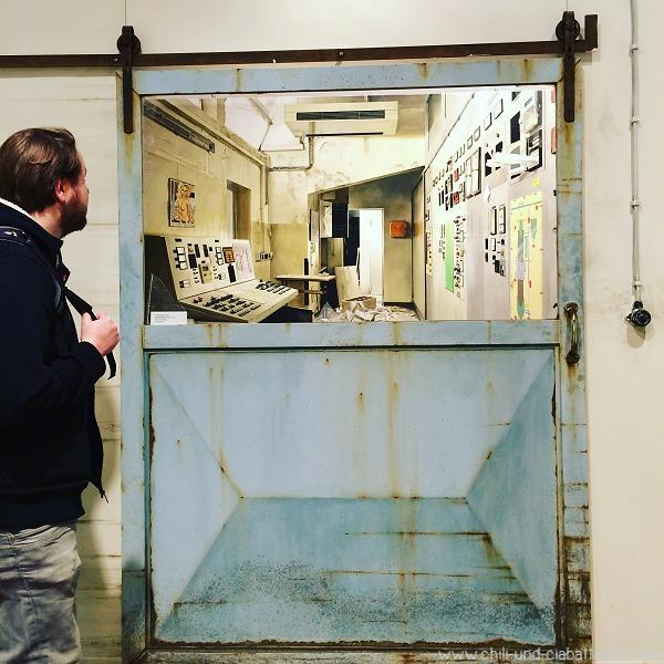 Ausstellung Bircheneder mit Moritz