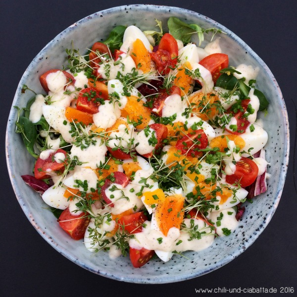 Tomaten-Eier-Salat