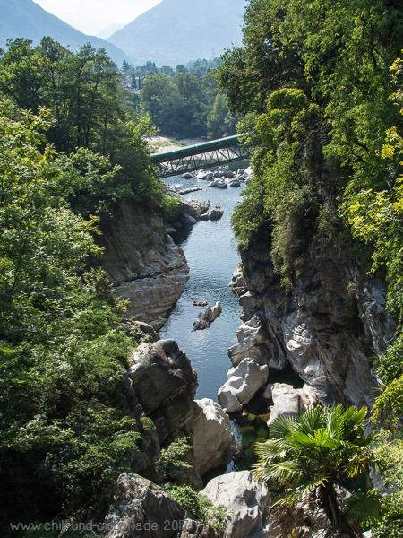 Maggia bei Ponte Brolla