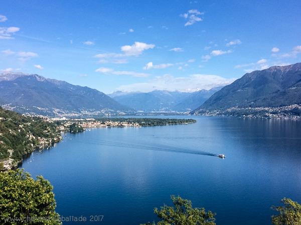 Blick Richtung Ascona