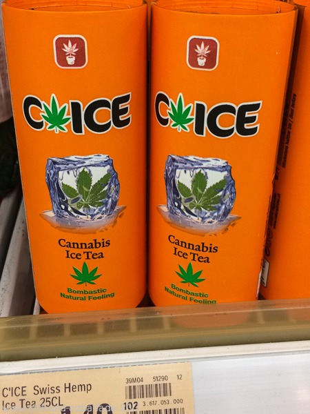 Swiss Cannabis Ice Tea
