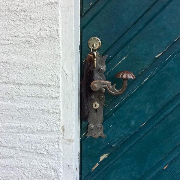 Türe mit Schlüssel