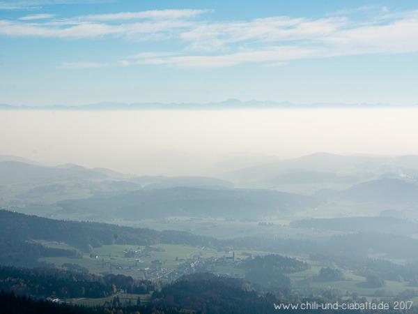 Diesiger Alpenblick