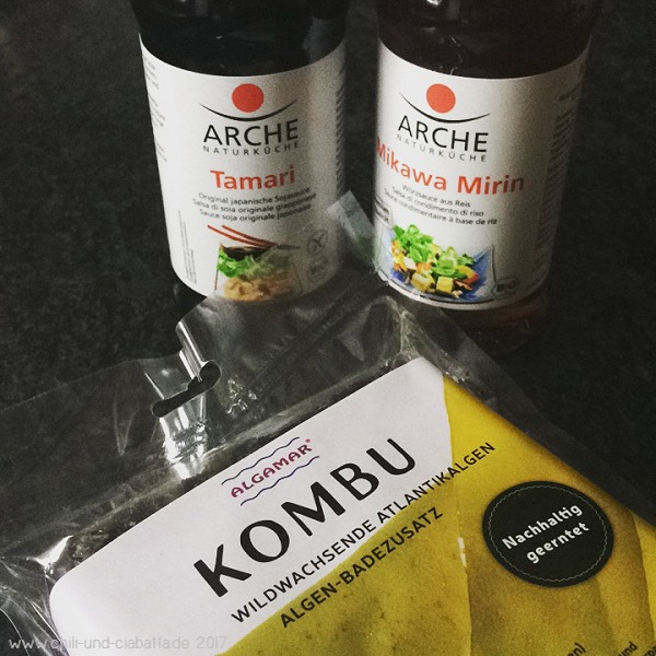 Japanische Lebensmittel