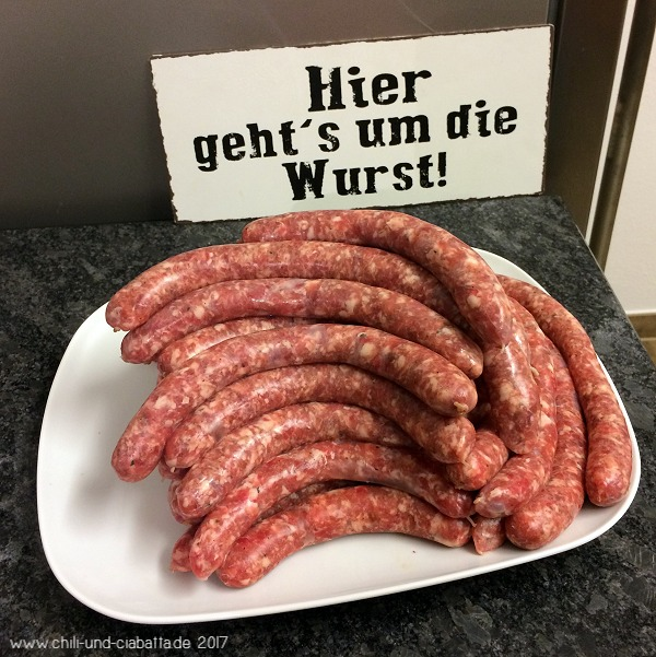 Bratwurst nach Thüringer Art
