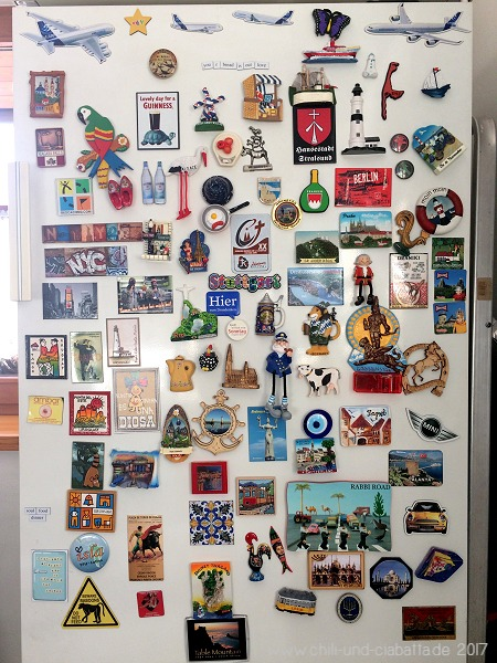 Kühlschrank-Magnet-Sammlung
