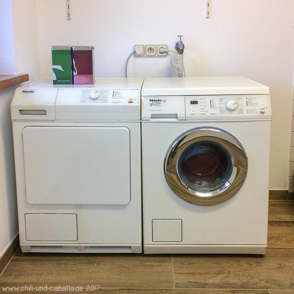 Waschmaschine steht wieder und wäscht