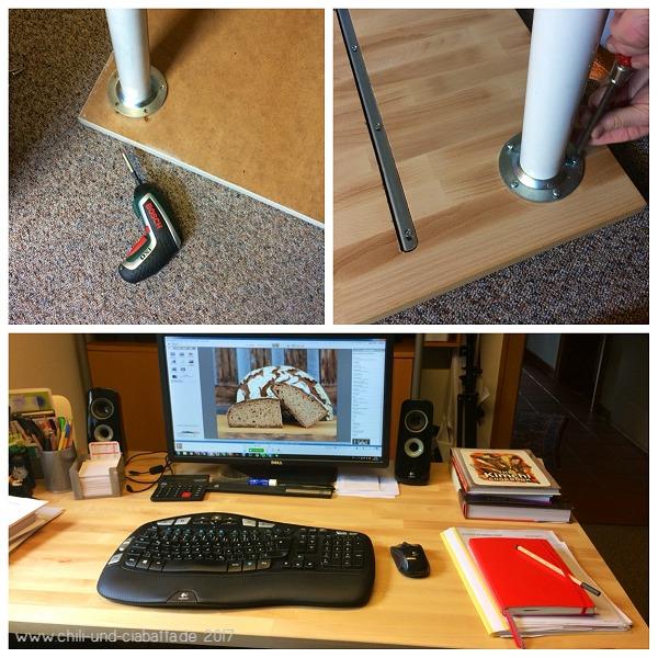 neue Schreibtischplatte