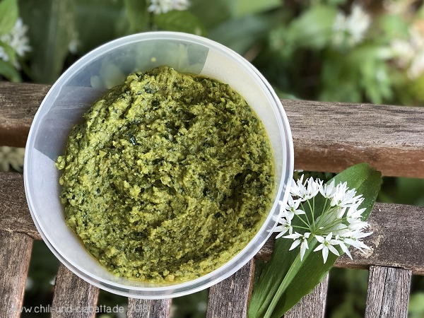 Bärlauch-Hummus