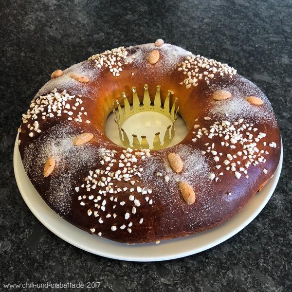 Rosca de Reyes - mexikanischer Dreikönigskuchen