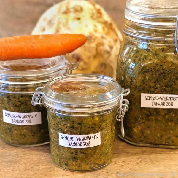 Gemüse-Würzpaste