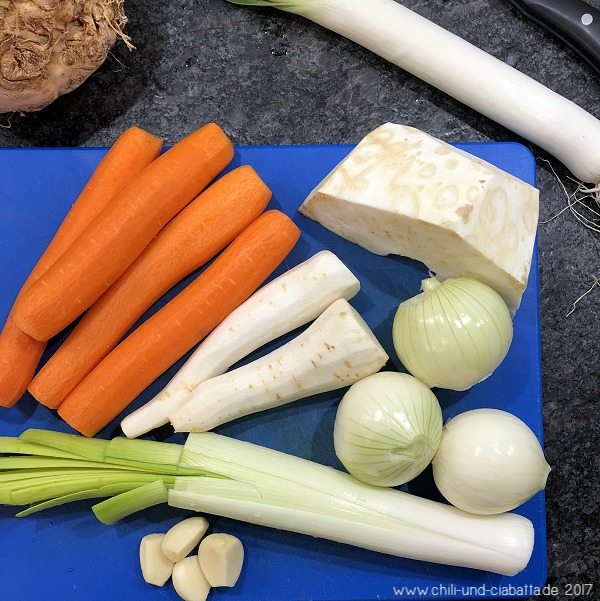 Gemüse für Gemüse-Würzpaste