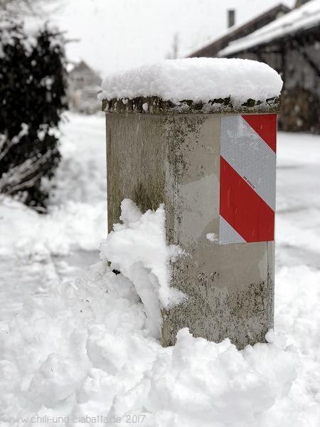 Schnee schaufeln