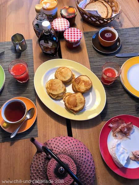 Frühstück Pancakes