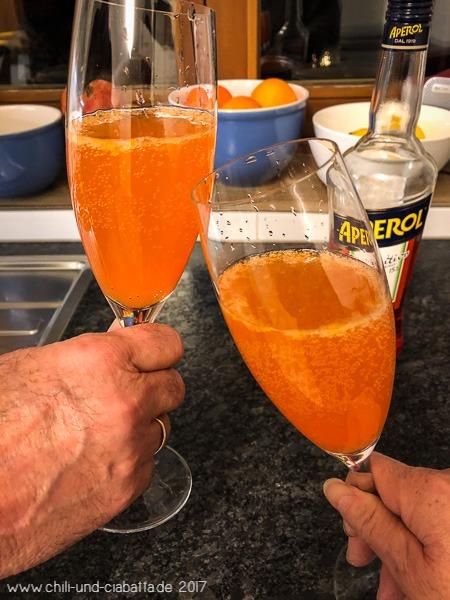 Mandarinen Sparkle mit Aperol