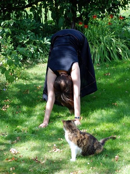 Kathi und Katze
