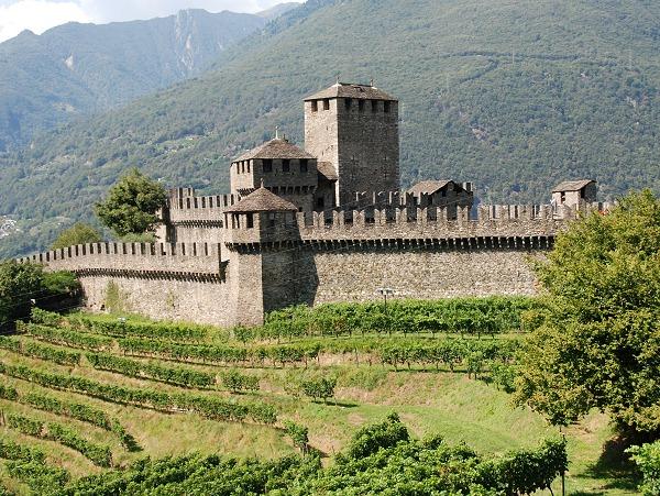 Bellinzona Castello di Montebello