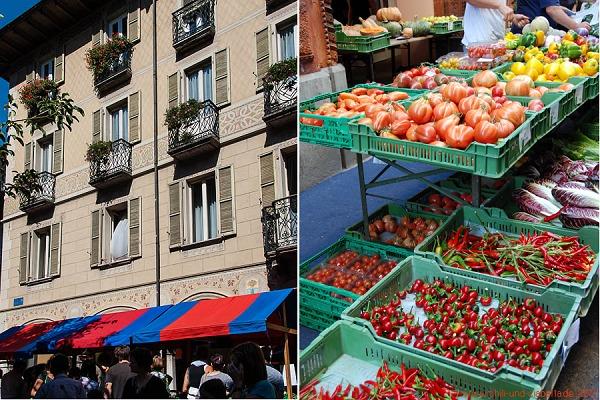 Markt in Bellinzona