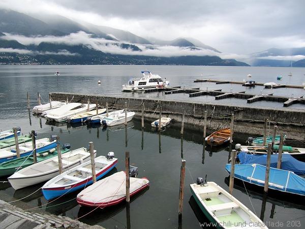 Lago Maggiore im Dunst