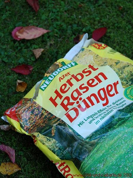 Herbstdüngung Rasen