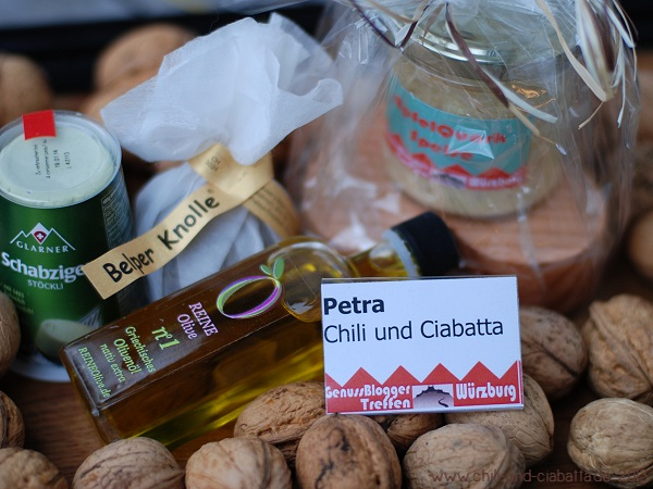 Mitbringsel vom Foodbloggertreffen Würzburg