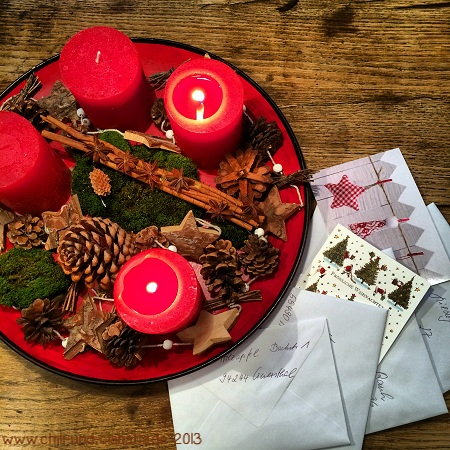 2. Advent Weihnachtspost