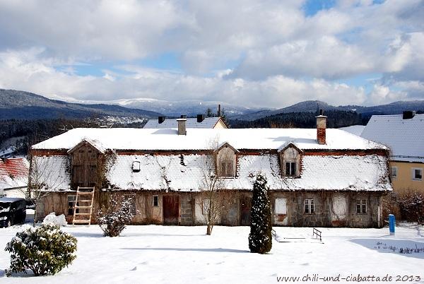 altes Gebäude in Teisnach