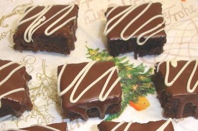 Schokoladen Weihnachtskekse.Schokoladen Brownies Chili Und Ciabatta