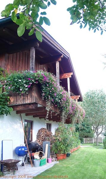 Hausfront von außen