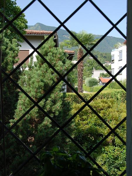 Blick aus dem Küchenfenster Ascona