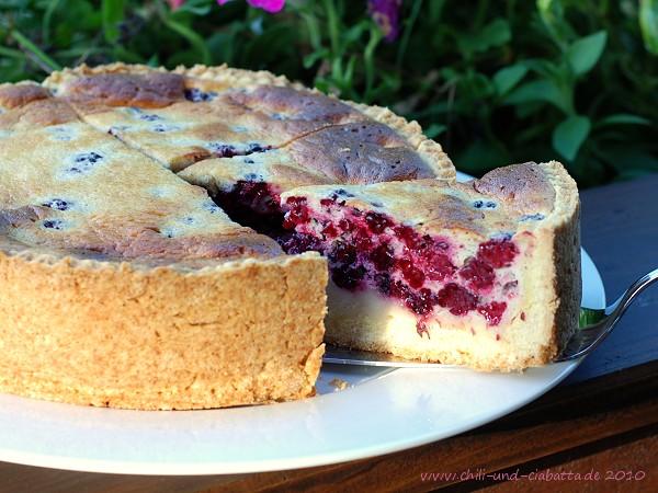 Brombeer-Sauerrahm-Kuchen
