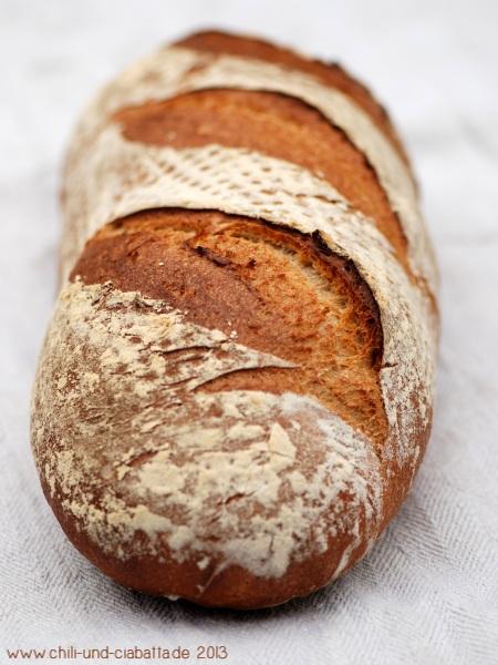 Buttermilch-Brot mit Vollkornanteil